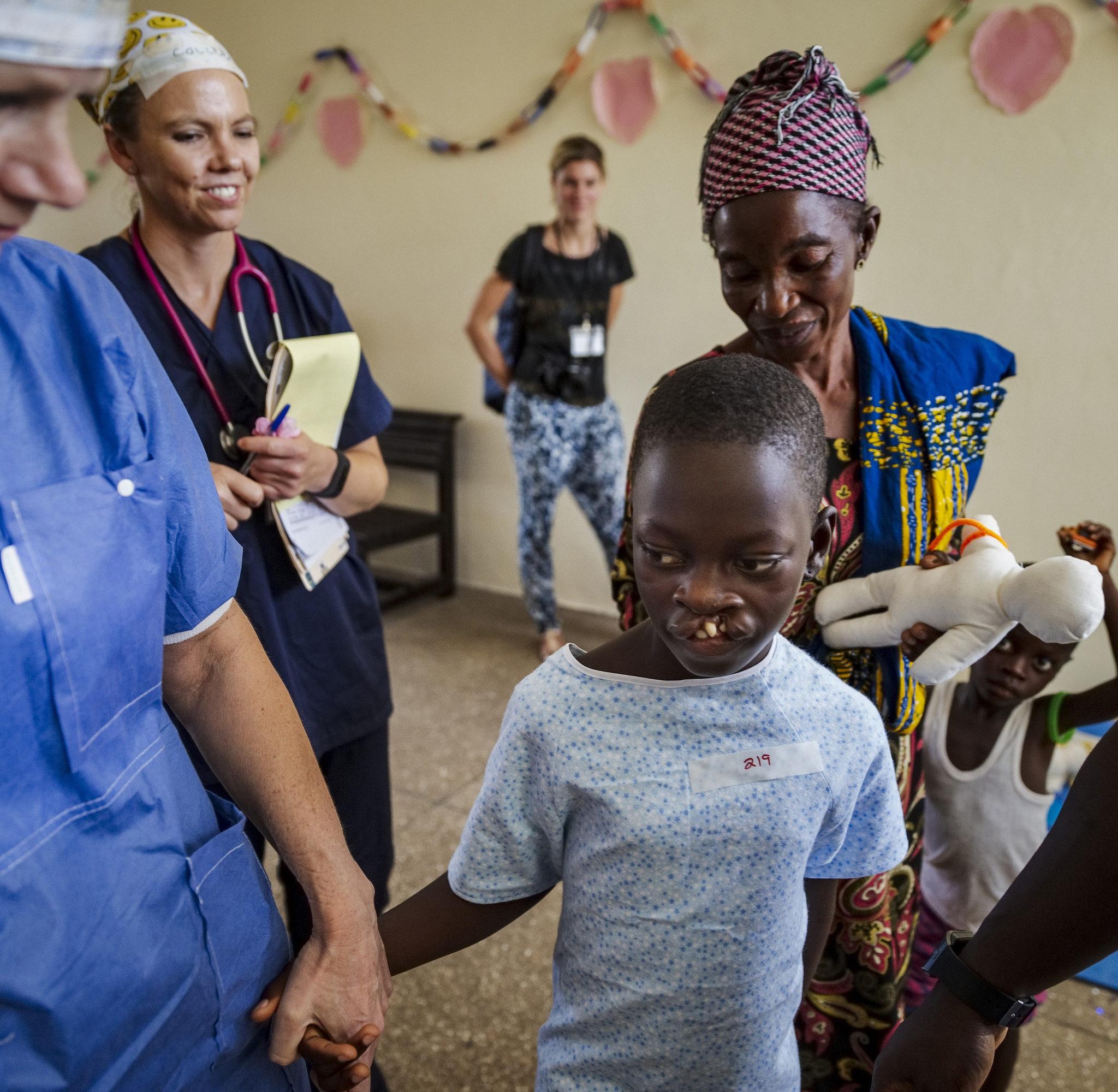 volontär malin hakelius under uppdrag i ghana