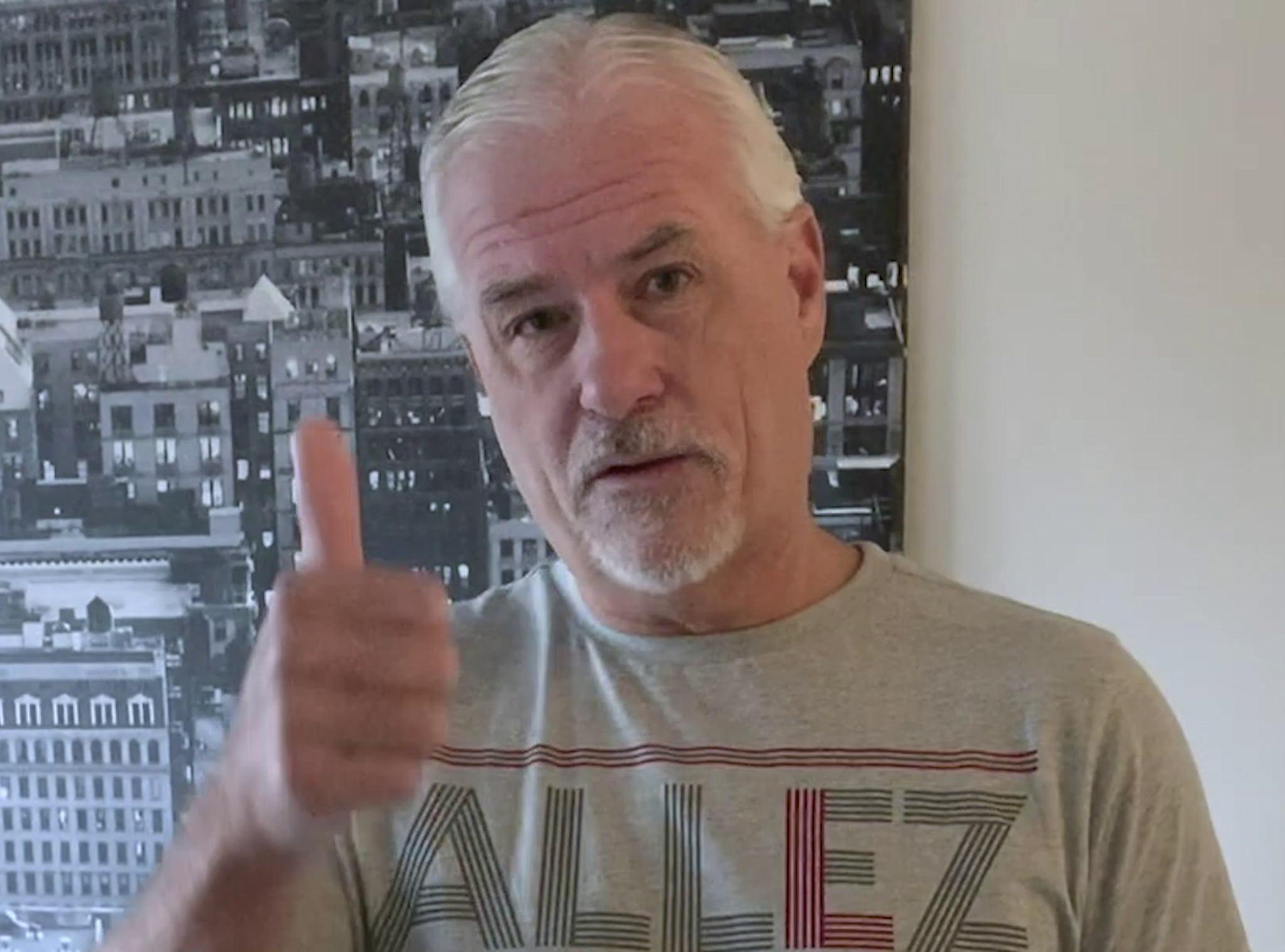 Glen Hyséns hälsning till Albert